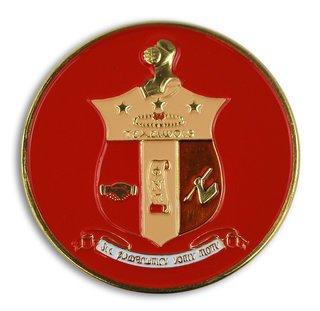 Kappa Alpha Psi Round Car Badges
