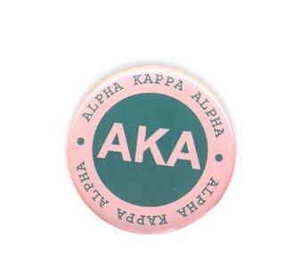Alpha Kappa Alpha Button Circle
