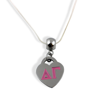 Delta Gamma Heart Necklace