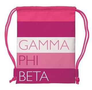 Gamma Phi Beta Drawstring Backpack