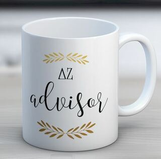 Delta Zeta Advisor Coffee Mug
