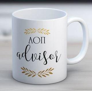 Alpha Omicron Pi Advisor Coffee Mug