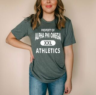 Alpha Phi Omega Athletics Shirt