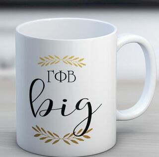 Gamma Phi Beta Big Coffee Mug