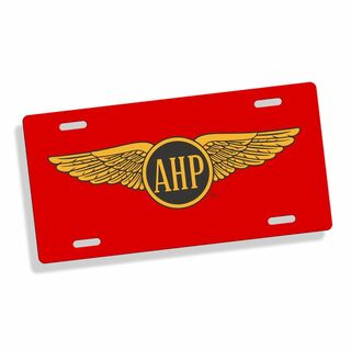 Alpha Eta Rho Car Merchandise & License Plate Frames