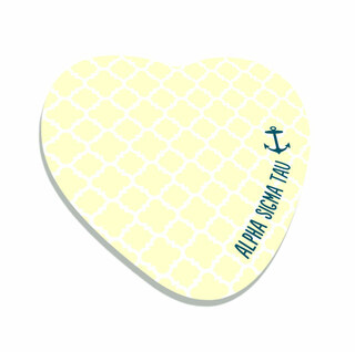 Alpha Sigma Tau Mascot Sticky Notes