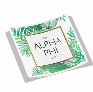 Sorority Tropical Square Decal