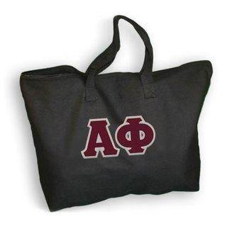 DISCOUNT- Alpha Phi Lettered Tote Bag