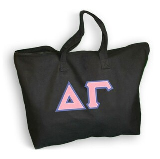 DISCOUNT- Delta Gamma Lettered Tote Bag