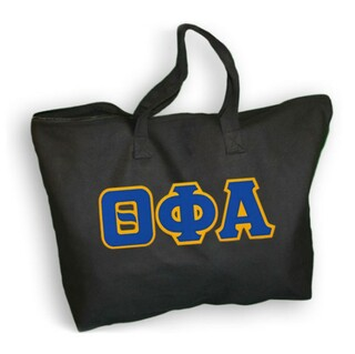DISCOUNT- Theta Phi Alpha Lettered Tote Bag