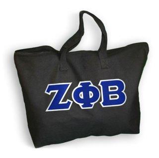 DISCOUNT- Zeta Phi Beta Lettered Tote Bag
