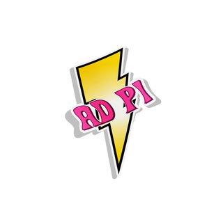 Alpha Delta Pi Lightning Bolt Decal