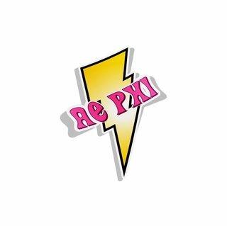 Alpha Epsilon Phi Lightning Bolt Decal