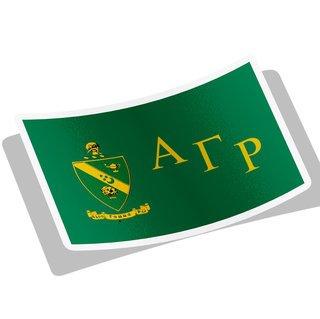Alpha Gamma Rho Flag Decal Sticker