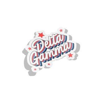 Delta Gamma Flashback Decal Sticker