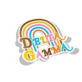 Delta Gamma Joy Decal Sticker