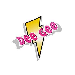 Delta Gamma Lightning Bolt Decal