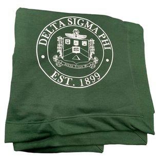 Delta Sigma Phi Sweatshirt Blanket