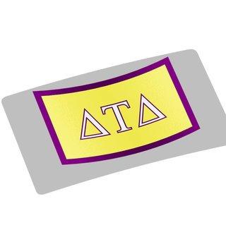 Delta Tau Delta Flag Decal Sticker