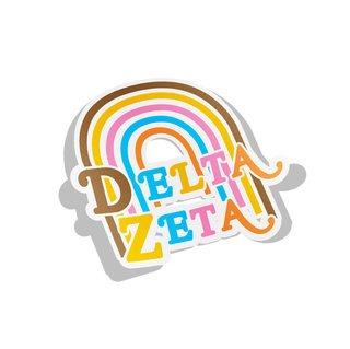 Delta Zeta Joy Decal Sticker