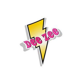 Delta Zeta Lightning Bolt Decal