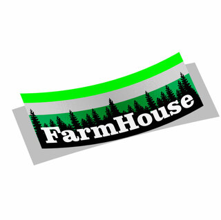 FARMHOUSE Mountain Decal Sticker