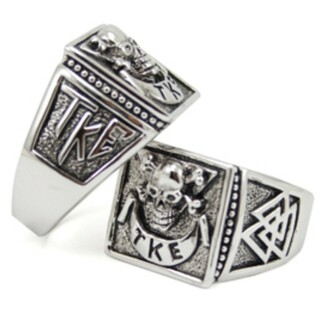 Fraternity Raised Crest - Shield Ring