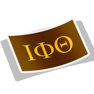 Iota Phi Theta Flag Decal Sticker