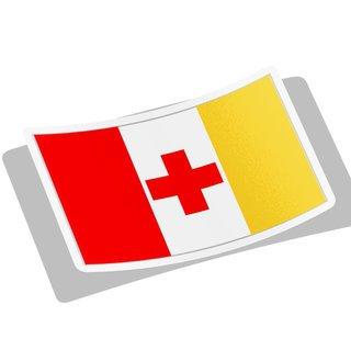 Kappa Alpha Flag Decal Sticker