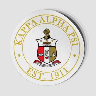 Kappa Alpha Psi Circle Crest - Shield Decal