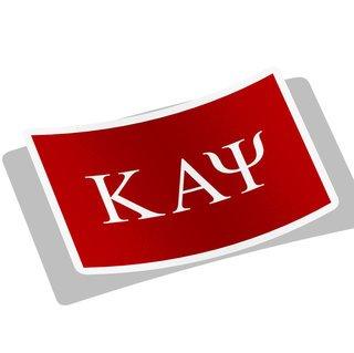 Kappa Alpha Psi Flag Decal Sticker