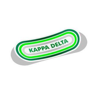 Kappa Delta Capsule Decal Sticker
