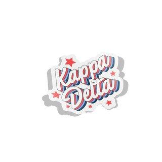 Kappa Delta Flashback Decal Sticker
