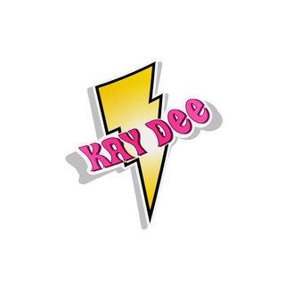 Kappa Delta Lightning Bolt Decal