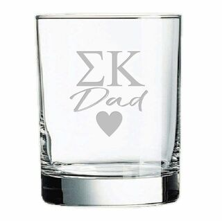 Mom Or Dad Old Style Glass