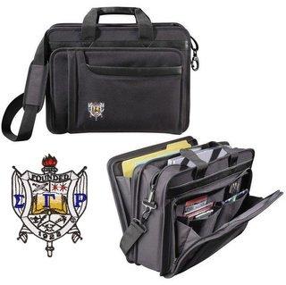 DISCOUNT-Sigma Gamma Rho Crest - Shield Briefcase Attache