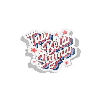 Tau Beta Sigma Flashback Decal Sticker