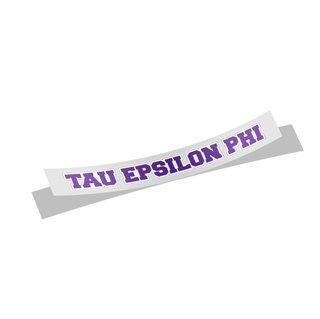 Tau Epsilon Phi Long Window Sticker