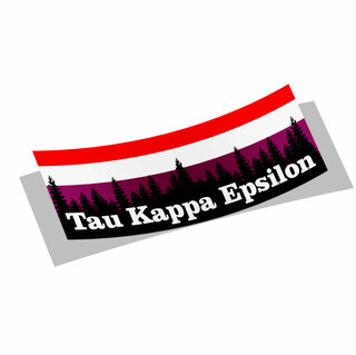 Tau Kappa Epsilon Mountain Decal Sticker