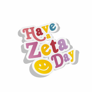 Zeta Tau Alpha Day Decal Sticker