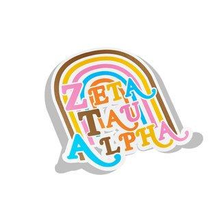 Zeta Tau Alpha Joy Decal Sticker