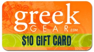 $10 Greekgear Gift Cards
