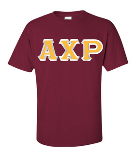 $15 Alpha Chi Rho Custom Twill Short Sleeve T-Shirt