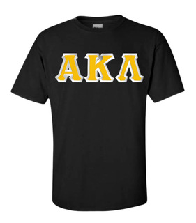 Alpha Kappa Lambda Custom Twill Short Sleeve T-Shirt