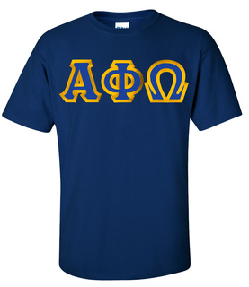 $15 Alpha Phi Omega Custom Twill Short Sleeve T-Shirt