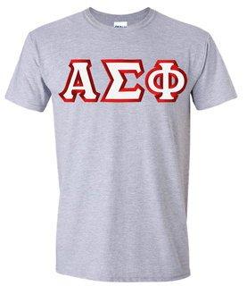 Alpha Sigma Phi Custom Twill Short Sleeve T-Shirt