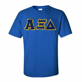 DISCOUNT Alpha Xi Delta Lettered Tee