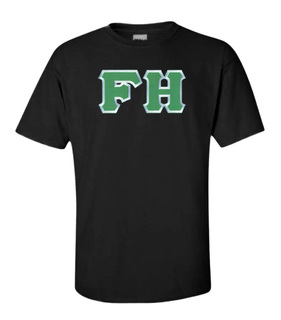 $15 FarmHouse Fraternity Lettered Tee