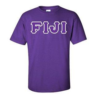 $15 FIJI Fraternity Custom Twill Short Sleeve T-Shirt