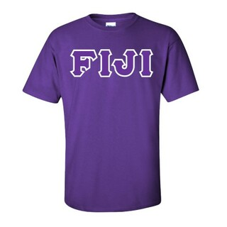 FIJI Fraternity Custom Twill Short Sleeve T-Shirt
